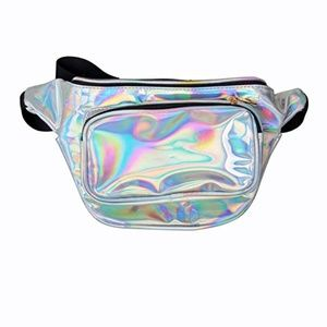 Handbags - Waterproof Shiny Neon Fanny Pack